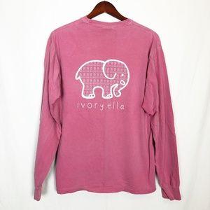 Breast Cancer Awareness  Ivory ella Comfort Color